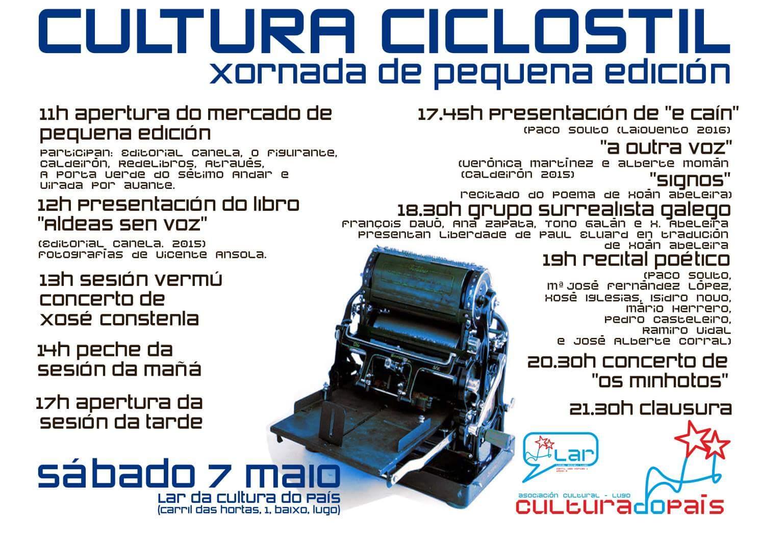 cultura ciclostil 2016