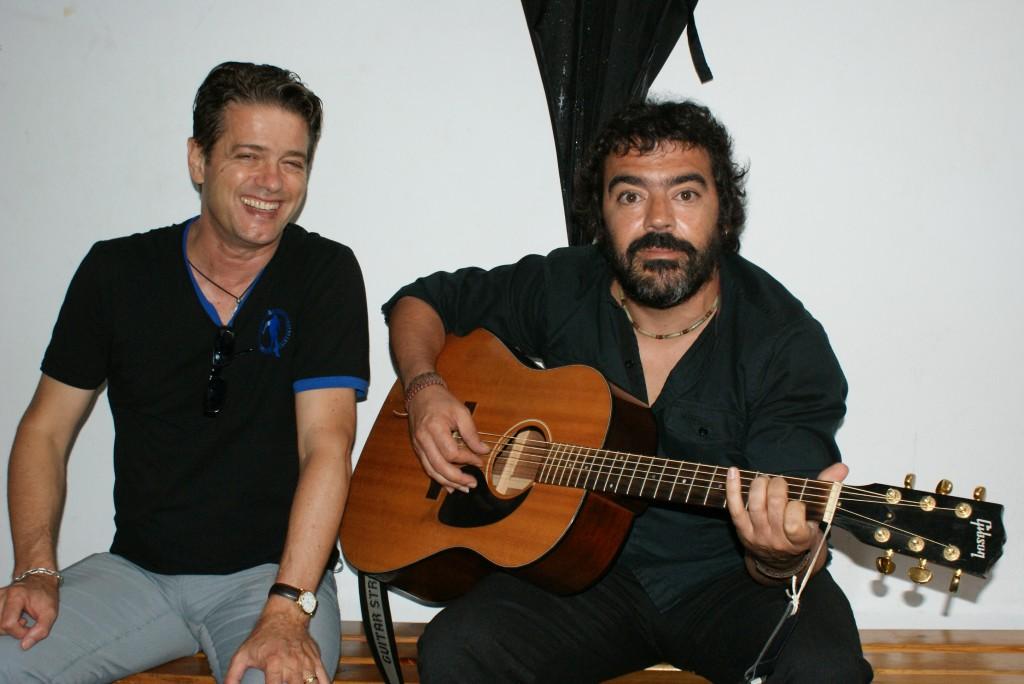 Santiago Auserón Juan Perro e Fran Pérez Narf: homenaxe a Pepe Rubianes en Vilagarcía (1/2)