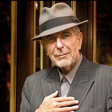 Leonard Cohen fotografia: Excerto da página oficial www.leonardcohen.com